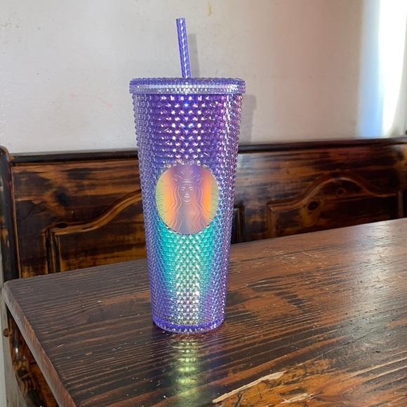 Mermaid bling starbucks cup